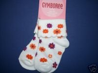 NWT Gymboree SAVANNA SUNSET Flower Socks 6-12 m
