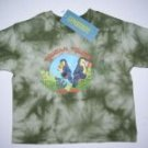 NWT Gymboree JUNGLE PRESERVE Tie Dye Toucan TEE 6-12 m