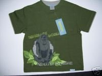 NWT Gymboree JUNGLE PRESERVE GORILLA TEE SHIRT 3