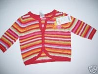 NWT Gymboree FIESTA FIESTA Crop Sweater Girl 3-6 m