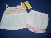 NWT Gymboree FIESTA FIESTA Girl Outfit Bloomers 0-3 m