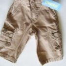 NWT Gymboree CAMP SCOUT Kahki Cargo Canvas Pants 3-6 m
