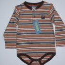NWT Gymboree CAMP SCOUT Paw Striped Bodysuit 18-24 m