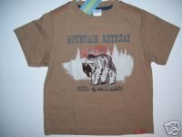 NWT Gymboree CAMP SCOUT Brown Grizzly Top Tee 3