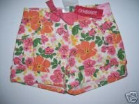 NWT Gymboree CORAL REEF Floral Girl Shorts 8