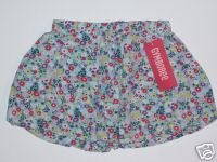 NWT Gymboree WISH YOU WERE HERE Bubble Skort 18-24 m
