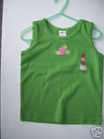 NWT Gymboree CORAL REEF Girl Green Tank 4