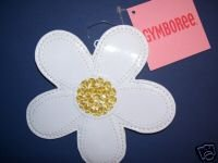NWT Gymboree WISH YOU WERE HERE White Flower Coin Purse