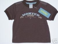 NWT Gymboree SUMMER RODEO Wanted Cowboy Tee 6-12 m