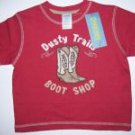 NWT Gymboree SUMMER RODEO Dusty Boots Shirt 12-18 m