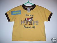 NWT Gymboree SUMMER RODEO Rodeo Round Up Top 12-18 m
