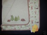 NWT Gymboree AUTUMN NATURE Hedgehog Reversable Blanket