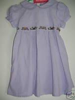 NWT Gymboree ROYAL GARDEN Purple Corduroy Dress 18-24 m