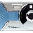 VIVITAR VIVITAR VIVICAM 3340 DIGITAL CAMERA (Model: vivicam3340 (R)
