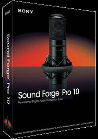 Sony Creative-Academic Sound Forge 10 w/Noise Reduction and CD Architect Win Vista & Win7 DVD