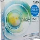 Sony Creative-Academic Vegas Pro 11 Win Vista/Win 7 DVD