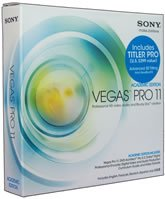 Sony Creative-Academic Vegas Pro 11 Win Vista/Win 7 DVD