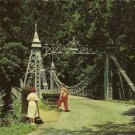 SUSPENSION BRIDGE - Mill Creek Park, Youngstown, OH
