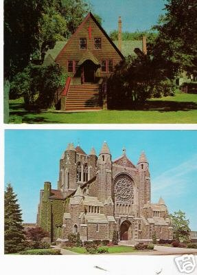 LOT of 2 CHURCHES