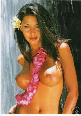 Girls of the South Seas - Topless Tahiti Girl - Card 5
