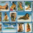Girls of the South Seas - Topless Tahiti Girls- Card 21