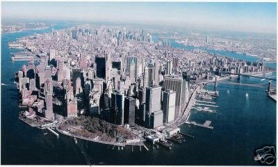 New York City Skyline - Entire Manhattan Island