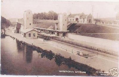 Hopatcong Railroad Station - Landing NJ - circa 1900