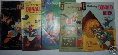 Set of 5 - Disney Donald Duck