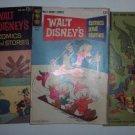 Set of 3 - Walt Disney Comics & Stories