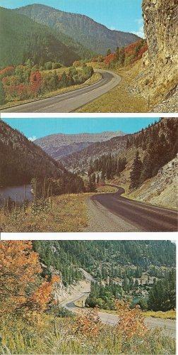 Lot of 3 Snake River Canyon - Wyoming