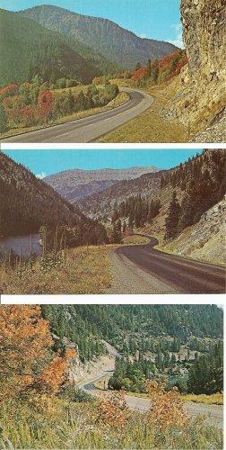 Lot of 3 Snake River Canyon - Wyoming