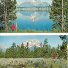 Lot of 2 - Mt. Moran - Grand Teton National Park - WY