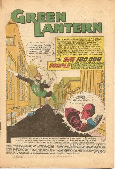 Green Lantern #7 & Aquaman #9 - Set of 2 early comics