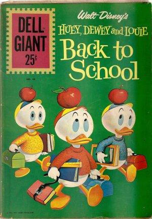 Dell Giant - Walt Disney's Huey, Dewey & Louie