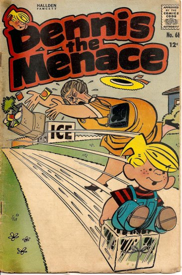 Dennis the Menace #68 (Sept 1963)