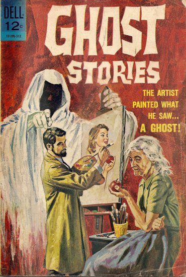 Ghost Stories #4 (Oct-Dec 1963)
