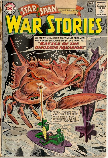Star Spangled War Stories #107 (Feb-Mar 1963)