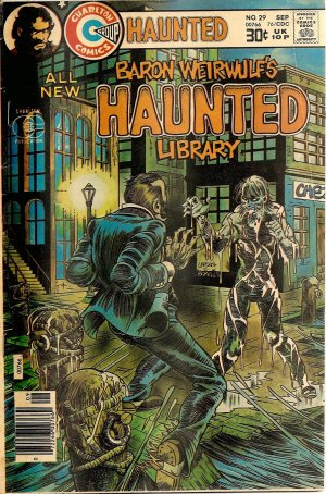 Baron Weirwulf's HAUNTED Library #29 (Sept 1976)