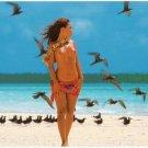 Girls of the South Seas - Topless Tahiti Girl - Card 2