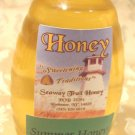 Half Pound Jar of Raw Summer Honey 2013 8oz Clover 1/2 pound