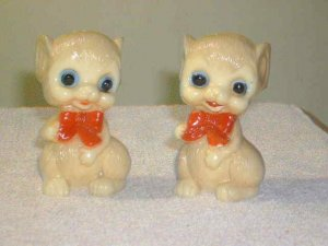 Cute Set of Mouse Mice Salt & Pepper Shakers
