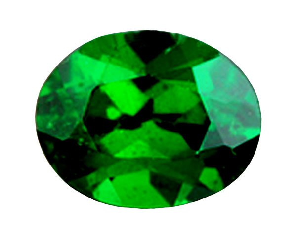 0.58 ct. Tsavorite Garnet, Chrome Green, Oval Faceted Gem