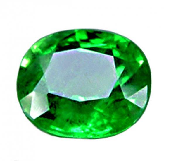 sold 1.34 ct. Tsavorite Garnet Chrome Green Oval Faceted Natural Gemstone