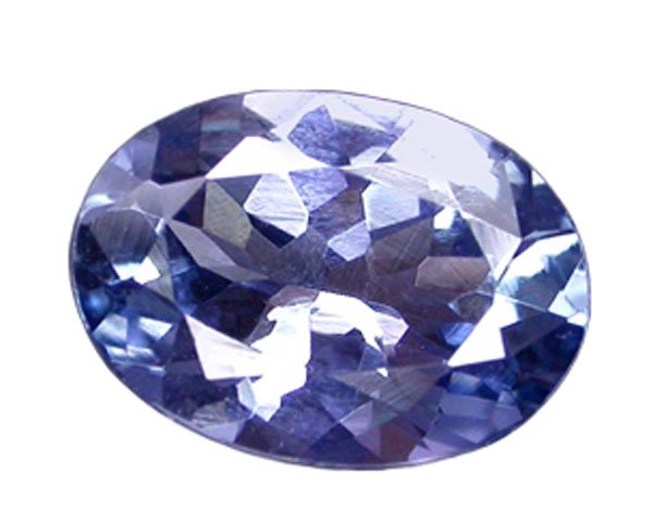 sold 0.98 ct. Tanzanite, IF-VVS1, Platinum Blue Violet, Oval Faceted Natural Unheated Gemstone
