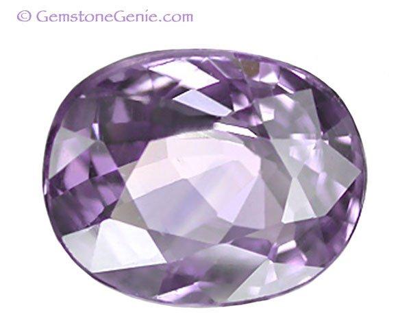 1.15 ct. Sapphire, VVS1 Color Change Violet/Purple - Pink, Oval Facet Gemstone, Ceylon