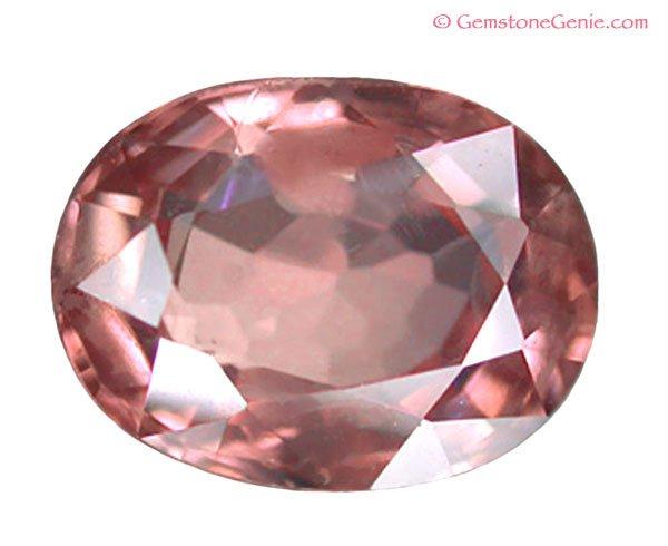 SOLD 1.55 ct. Sapphire, VVS, Orange/Pink - Padparadscha/Lotus Blossom, Oval Faceted Gem, Ceylon