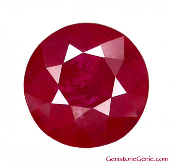 1.96 ct. Ruby - Rich Red, 7 x 7 Round Faceted Natural Gemstone, Madagascar