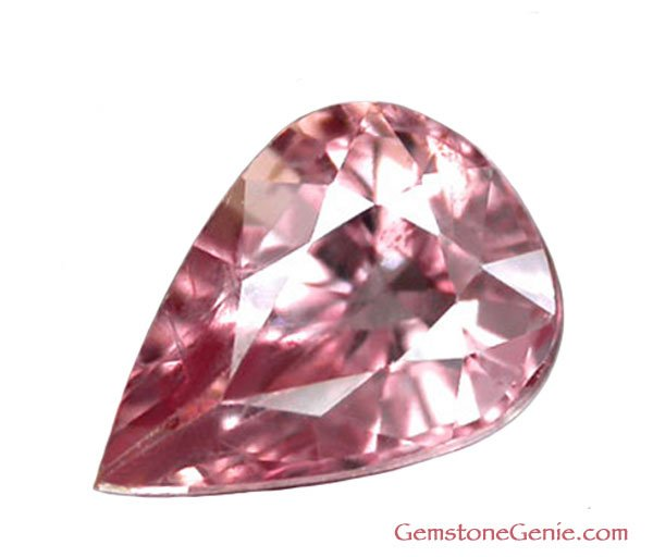 1.44 ct. Sapphire, Pink, Pear (Tear Drop) Faceted Natural Gemstone