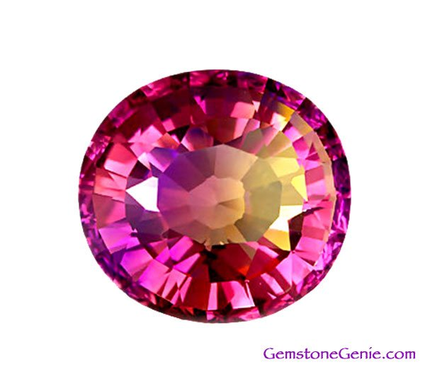 sold 48.45 ct. Flawless (IF) Ametrine, Purple/Yellow, Cushion Faceted Natural Gemstone, Bolivia