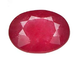 HOLD 1.20 ct. Ruby, Pinkish Red, 8x6, Oval Faceted Natural Gem, Burma